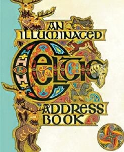 An Illuminated Celtic Address Book