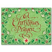 A Christmas Prayer - Christmas Card