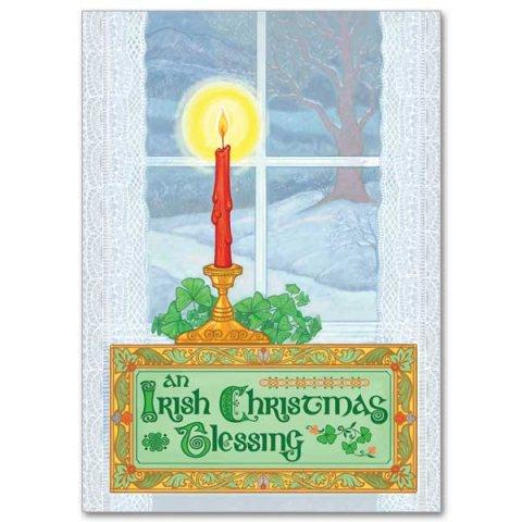 Irish Christmas Blessing.An Irish Christmas Blessing Miracle Of Christmas Card