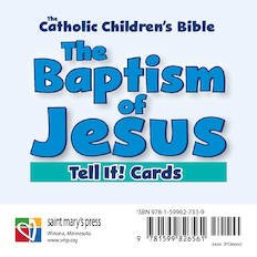 Baptism of Jesus Tell it! Cards Catholic Children's Bible