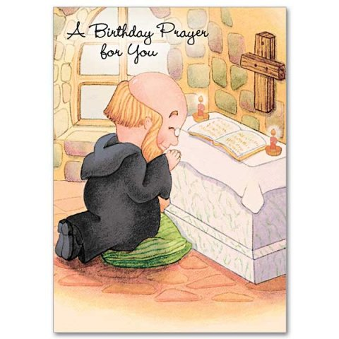 A Birthday Prayer for You Brother Christopher Birthday Card Pack 5