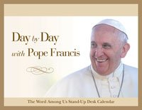 Day By Day With Pope Francis Desk Perpetual Calendar