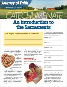 Journey of Faith for Adults: Catechumenate