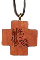 Communion Square Wooden Cross