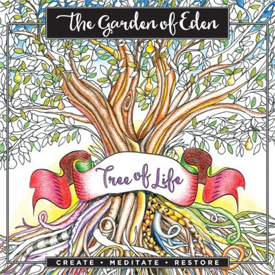 Garden of Eden: Create. Meditate. Restore Inspirational Colouring Book