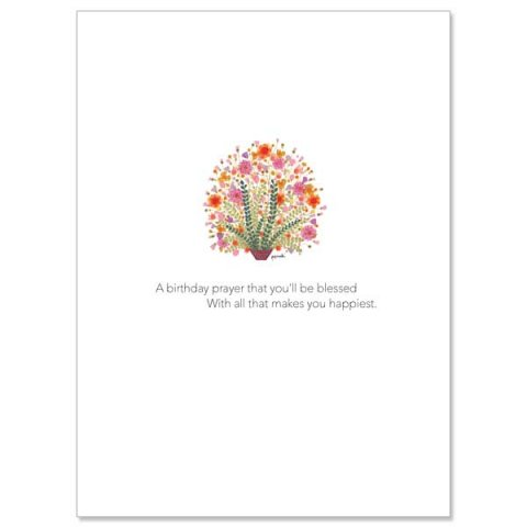 A Birthday Prayer That You'll Be Blessed - Birthday Card pack 10