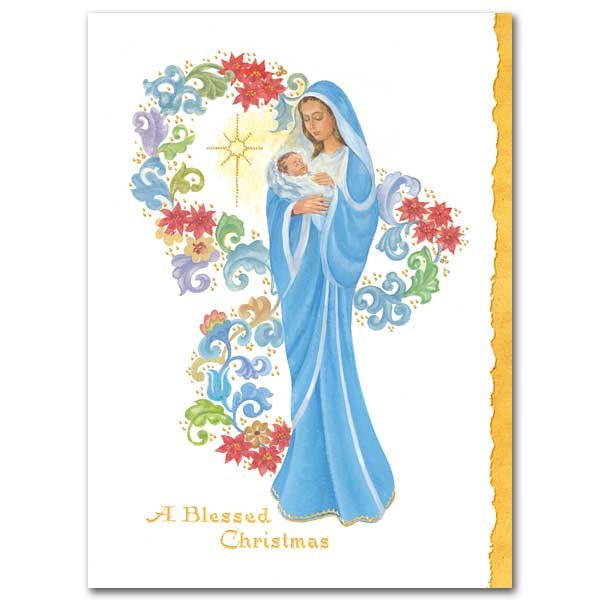 A Blessed Christmas - Christmas Card box of 20
