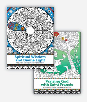 Prayer and Meditation Colouring Book Pack