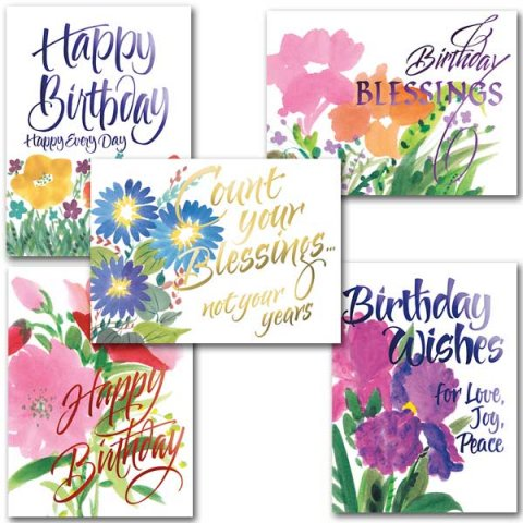 Joy Birthday Card Assortment Pack 10