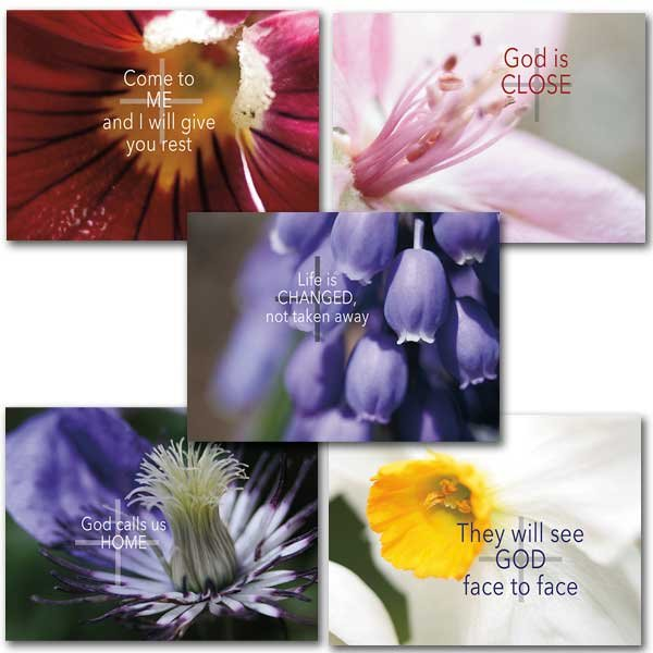 Eternal Words Sympathy Card Assortment pack 10