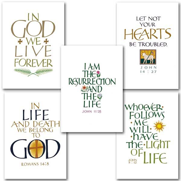 Light of Life Sympathy Card Assortment pack 5