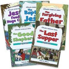 Catholic Children's Bible New Testament Bible Big Book Pack