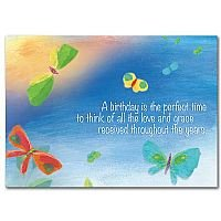 A Birthday Is the Perfect Time Birthday Card pack of 5