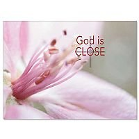 God Is Close Eternal Words Sympathy Card pack of 10