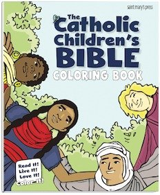 Catholic Childrens Bible Coloring Book