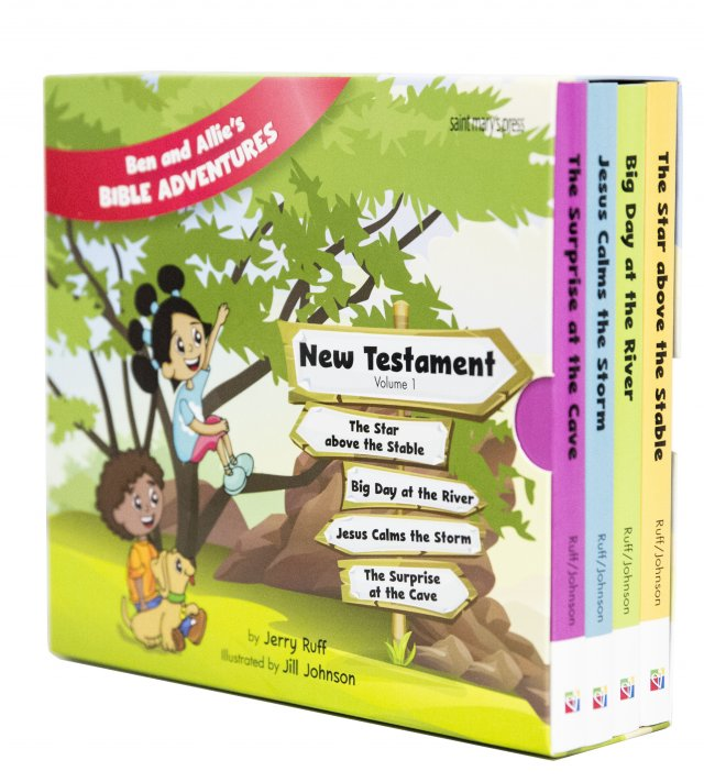 Catholic Childrens Bible New Testament 4 Board Book Set