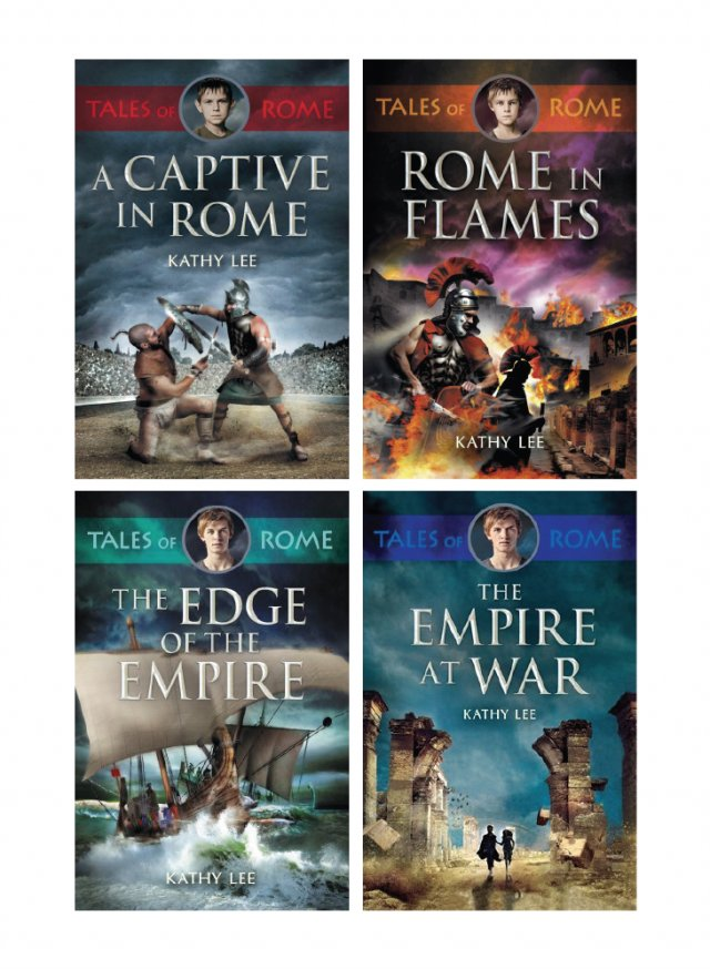 Tales of Rome 4 Book Set