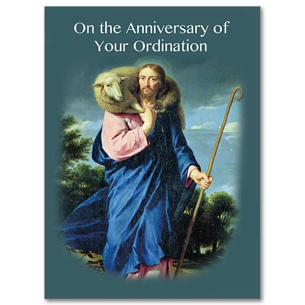 On the Anniversary of Your Ordination - Ordination Anniversary card pack of 10