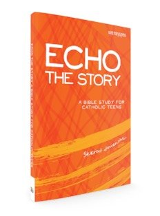 Echo the Story: A Bible Study for Catholic Teens - Sketch Journal