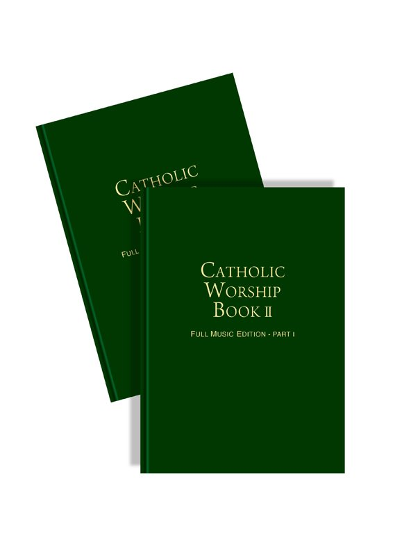 Catholic Worship Book II: Full Music Edition (2 volumes hardcover)