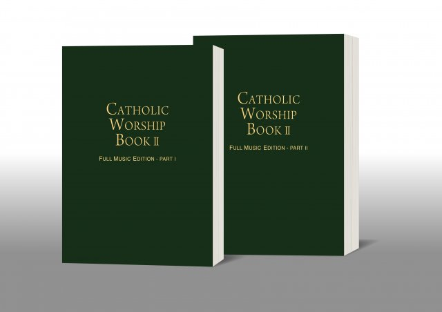 Catholic Worship Book II: Full Music Edition (2 volumes paperback)