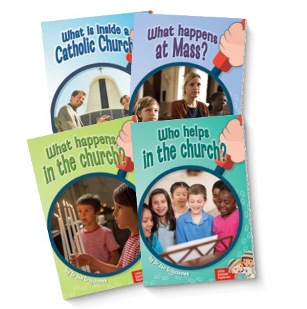 Little Catholic Explorers: The Church Set of 4 Books