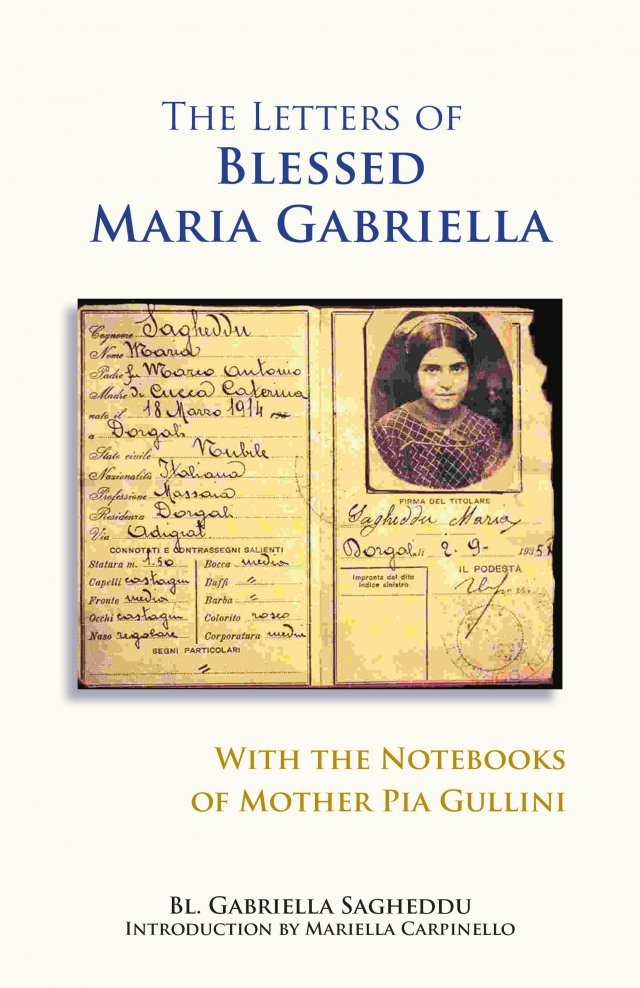 Letters of the Blessed Maria Gabriella with the