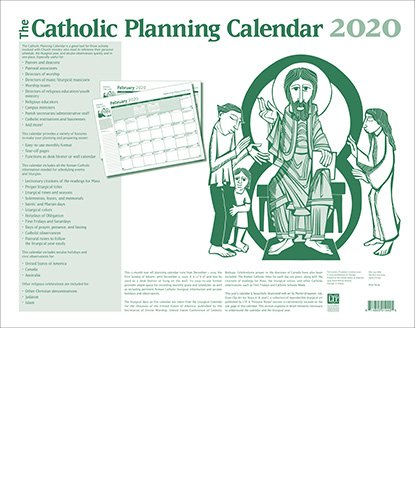 Catholic Planning Calendar 2020