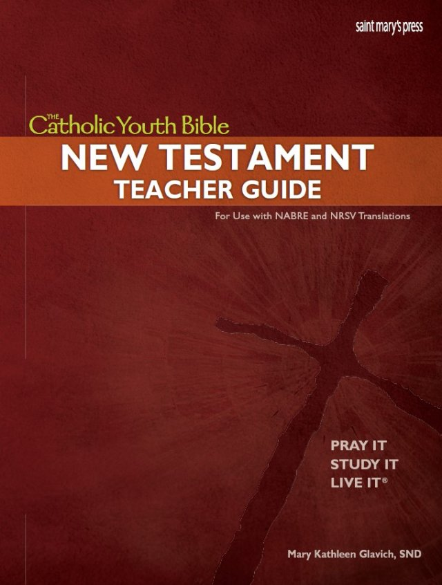 Catholic Youth Bible New Testament Teacher Guide | Garratt