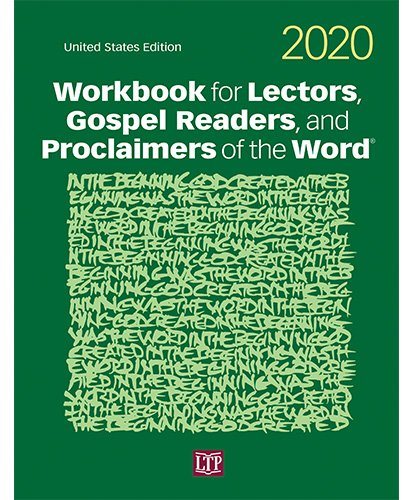 Workbook for Lectors, Gospel Readers, and Proclaimers of the Word 2020 NAB US Edition