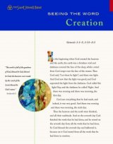 Seeing the Word Series 1 Creation Pack of 10 Leaflets Saint Johns Bible