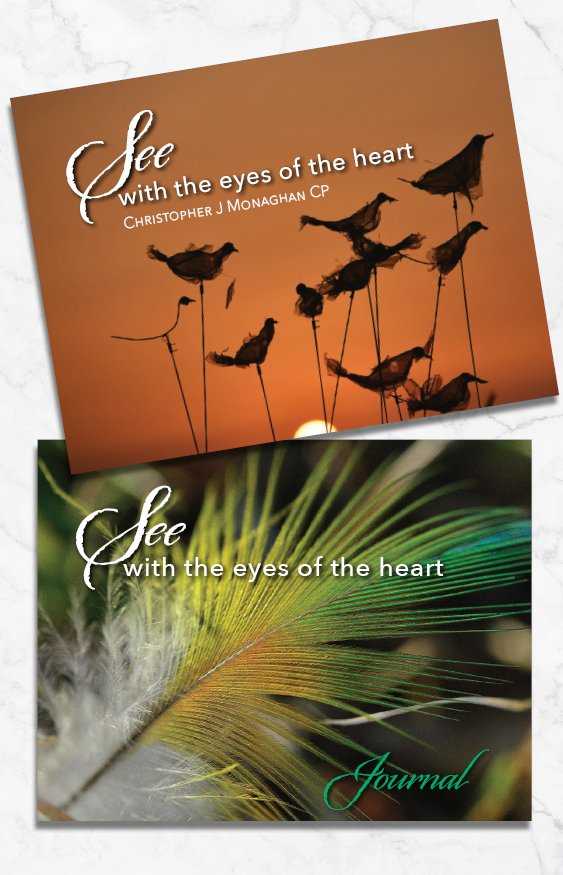 See with the Eyes of the Heart Book & Journal Pack