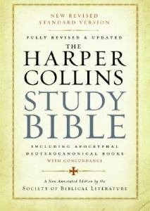 HarperCollins Study Bible NRSV Fully Revised and Updated including Apocryphal Deuterocanonical Books with Concordance Hardcover