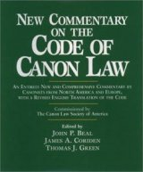 New Commentary on the Code of Canon Law hardcover