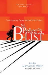 St. Peter's B-list Contemporary Poems Inspired by the Saints