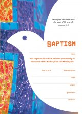 Becoming Catholic Baptism Certificate