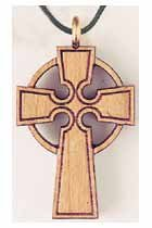 Celtic Wooden Cross Design 2