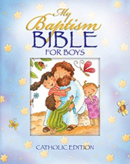 My Baptism Bible for Boys Catholic Edition