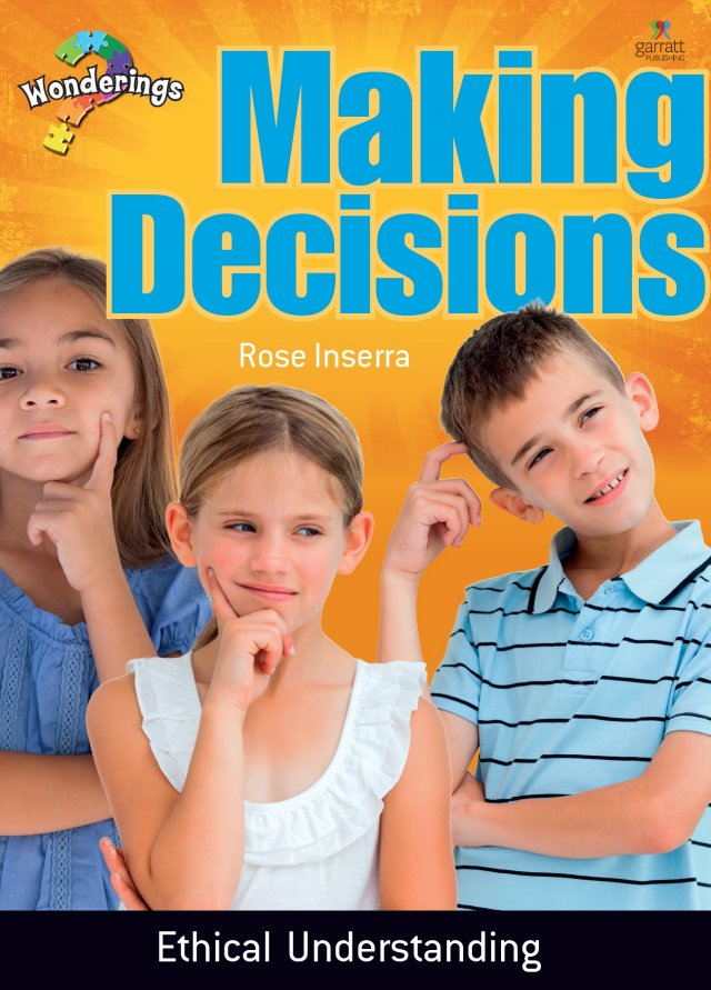 Making Decisions Wonderings Big Book