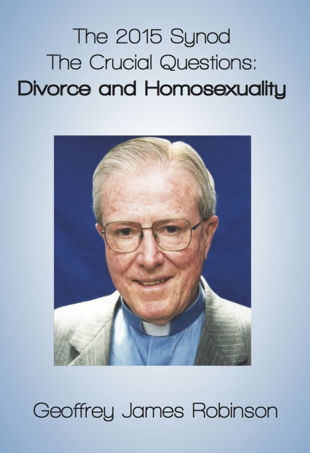 2015 Synod The Crucial Questions: Divorce and Homosexuality paperback