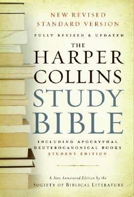 HarperCollins Study Bible NRSV Fully Revised And Updated including Apocryphal Deuterocanonical Books Student edition Paperback
