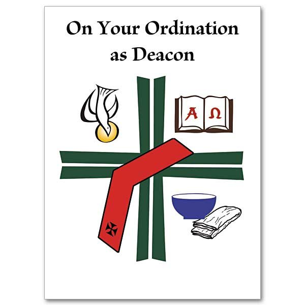 On Your Ordination as Deacon: Deacon Ordination Card pack 10