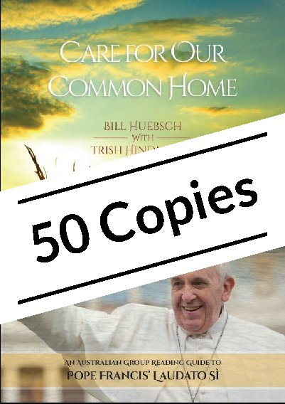 Care for Our Common Home: An Australian Group Reading Guide to Pope Francis' Laudato Si Pack of 50 copies