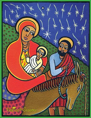 Keeping the Seasons Holy Family Poster