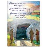 Empty Tomb Easter Card - pack of 5