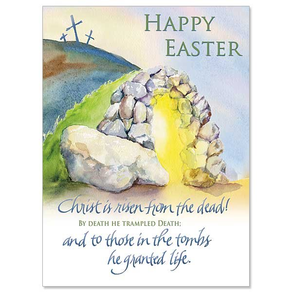 Empty Tomb Easter Card pack of 10
