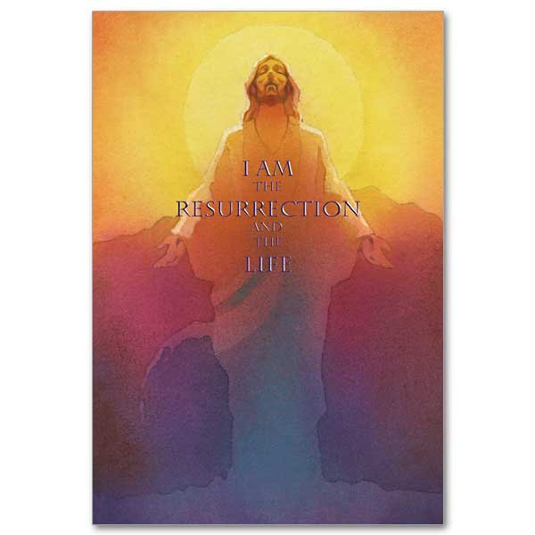 I Am the Resurrection Easter card pack of 4