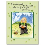 For Each Petal On The Shamrock- St. Patrick's Day Card pack of 10