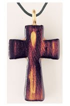 Abstract Corpus Wooden Cross
