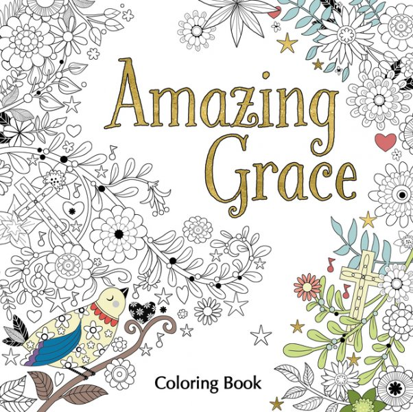Amazing Grace Coloring Book Garratt Publishing